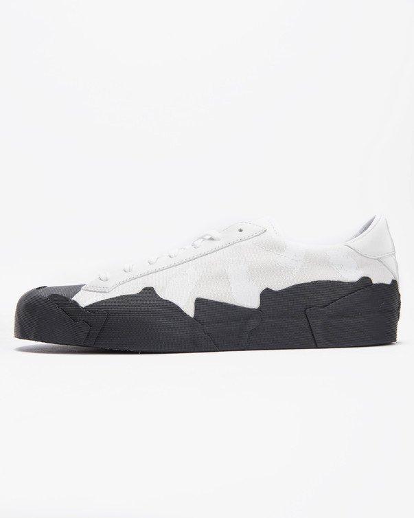 【代金引換不可】 送料無料 Men's メンズ 店舗限定 YOHJI YAMAMOTO YY TAKUSAN LOW WHITE WHITE/BLACK B37254 ヨウジ ヤマモト タクサン ロー ホワイト ブラック靴 スニーカー アパレル ファッション