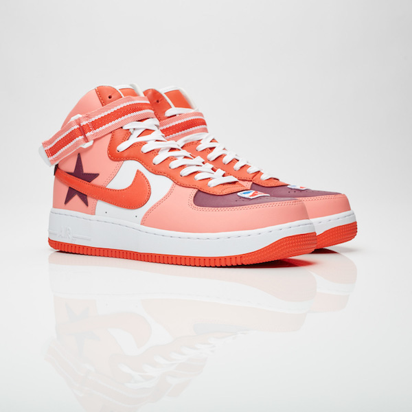【代金引換不可】 送料無料 Men's メンズ 店舗限定 NikeLab Air Force 1 Hi x Riccardo Tisci Sunblush/Bordeaux/Team Orange/Black Aq3366-601 ナイキラボ エアフォース 1 ハイ x リカルド ティッシ 靴 スニーカー アパレル ファッション