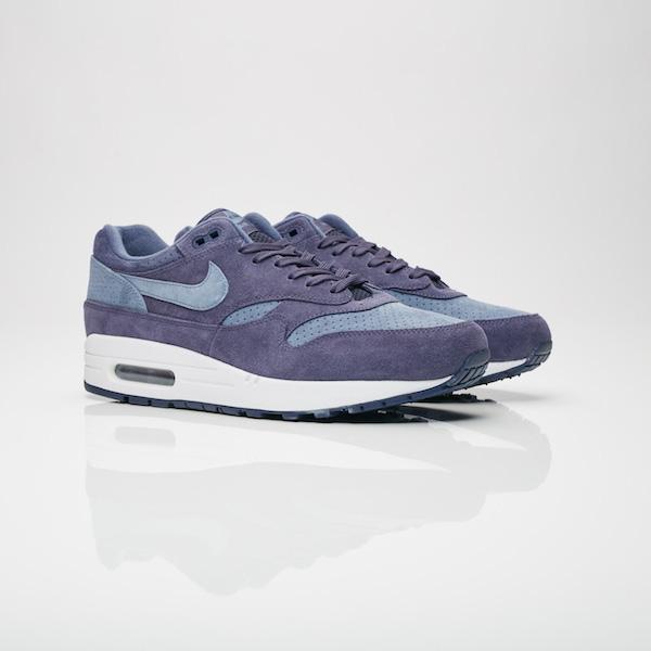 【代金引換不可】 送料無料 Men's メンズ 店舗限定 Nike Sportswear Air Max 1 Premium Neutral Indigo/Diffused Blue/Black 75844-501 ナイキ エアマックス 1 プレミアム インディゴ ブルー ネイビー 靴 スニーカー アパレル ファッション