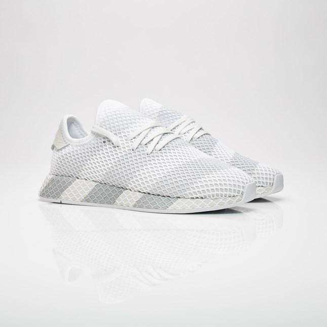 【代金引換不可】 送料無料 Men's メンズ 店舗限定 Adidas Consortium Deerupt Consortium Ftw White/Ftw White/Ftw White AC7755 アディダス コンソーシアム ディーラプト ホワイト 靴 スニーカー アパレル ファッション