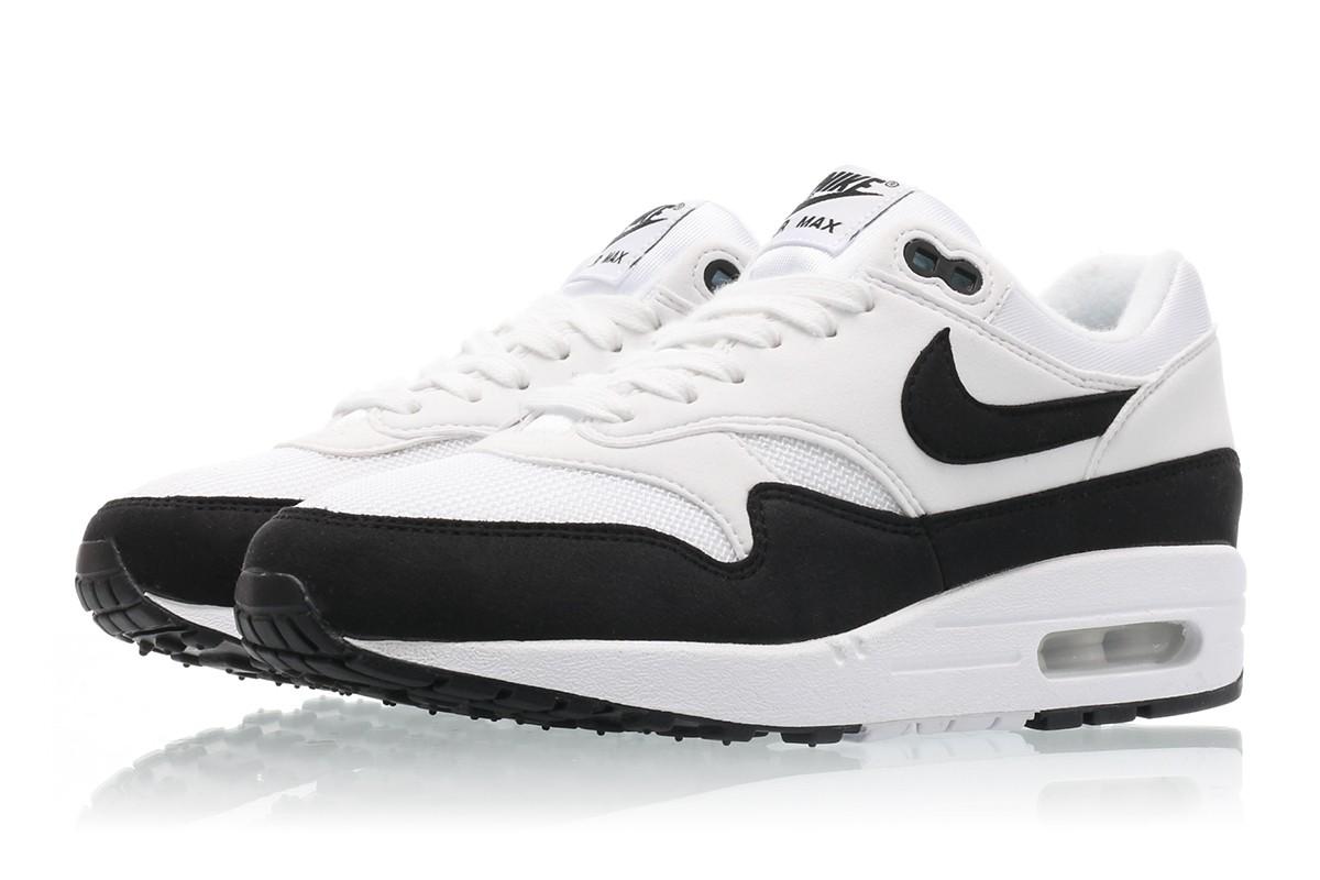【代金引換不可】 送料無料 Women's ウーメンズ 店舗限定 Nike WMNS AIR MAX 1 White / Black 319986-109 ナイキ エアマックス 1 ホワイト / ブラック 女子 女性 靴 スニーカー アパレル ファッション