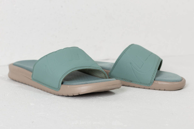 【代金引換不可】 送料無料 Men's メンズ 店舗限定 Nike Benassi JDI Ultra SE khaki / clay green - clay green AO2407-201 ナイキ べナッシー JDI ウルトラ スペシャルエディション グリーン ベージュ サンダル 靴 スニーカー アパレル ファッション