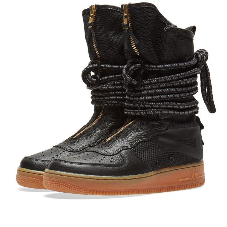 【代金引換不可】 送料無料 Men's メンズ 店舗限定 NIKE Special Field AIR FORCE 1 HI BLACK GUM & BROWN AA1128-001 ナイキ スペシャル フィールド エア フォース 1 ハイ ブラック ガム ブラウンエアフォース ブーツ シューズ 靴 スニーカー