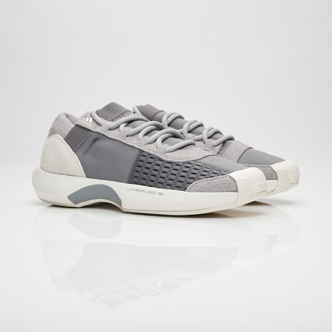 【代金引換不可】 送料無料 Men's メンズ 店舗限定 Adidas Consortium Crazy 1 ADV Grey/Grey/Power Red CQ1868 アディダス コンソーシアム クレイジー 1 ADV ファッション 人気 スニーカー シューズ 靴