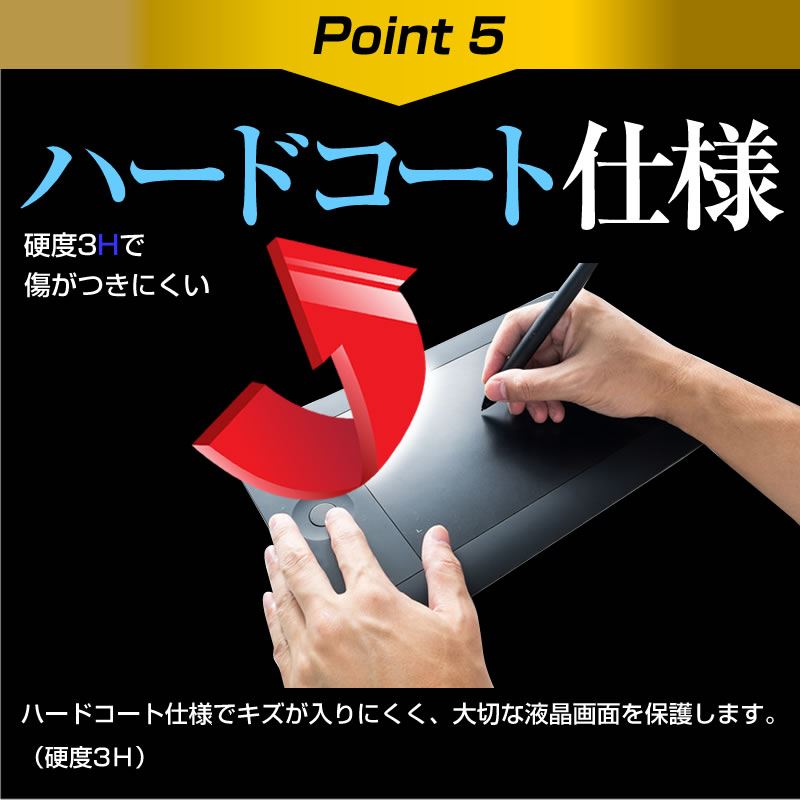 Film for the paper like fingerprint prevention blue light cut non-glare  liquid crystal protection film pen tablet which is usable with HUION Kamvas