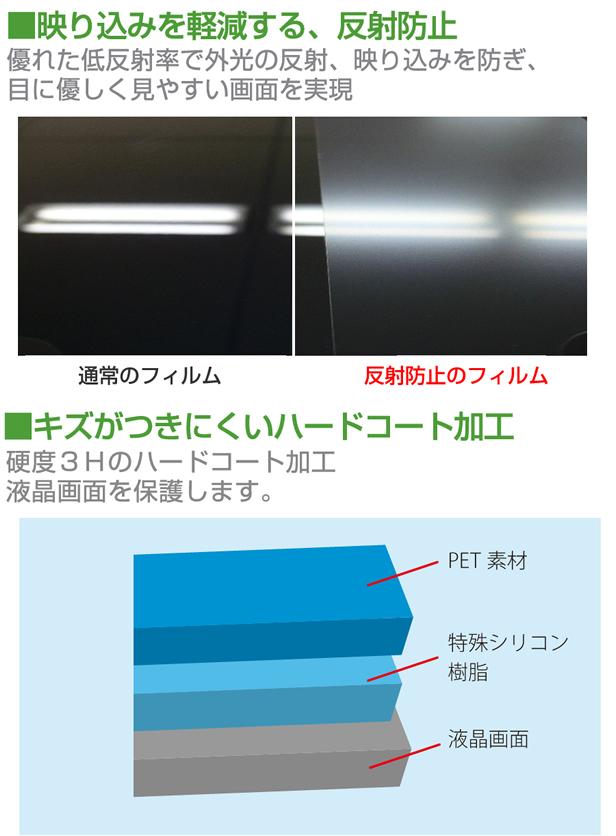 Huawei Qua tab 02 au[10.1 인치]반사 방지 농레아 액정 보호 필름과 무선 키보드 기능부 타블렛 케이스 bluetooth 타입 세트 케이스 커버 보호 필름 무선