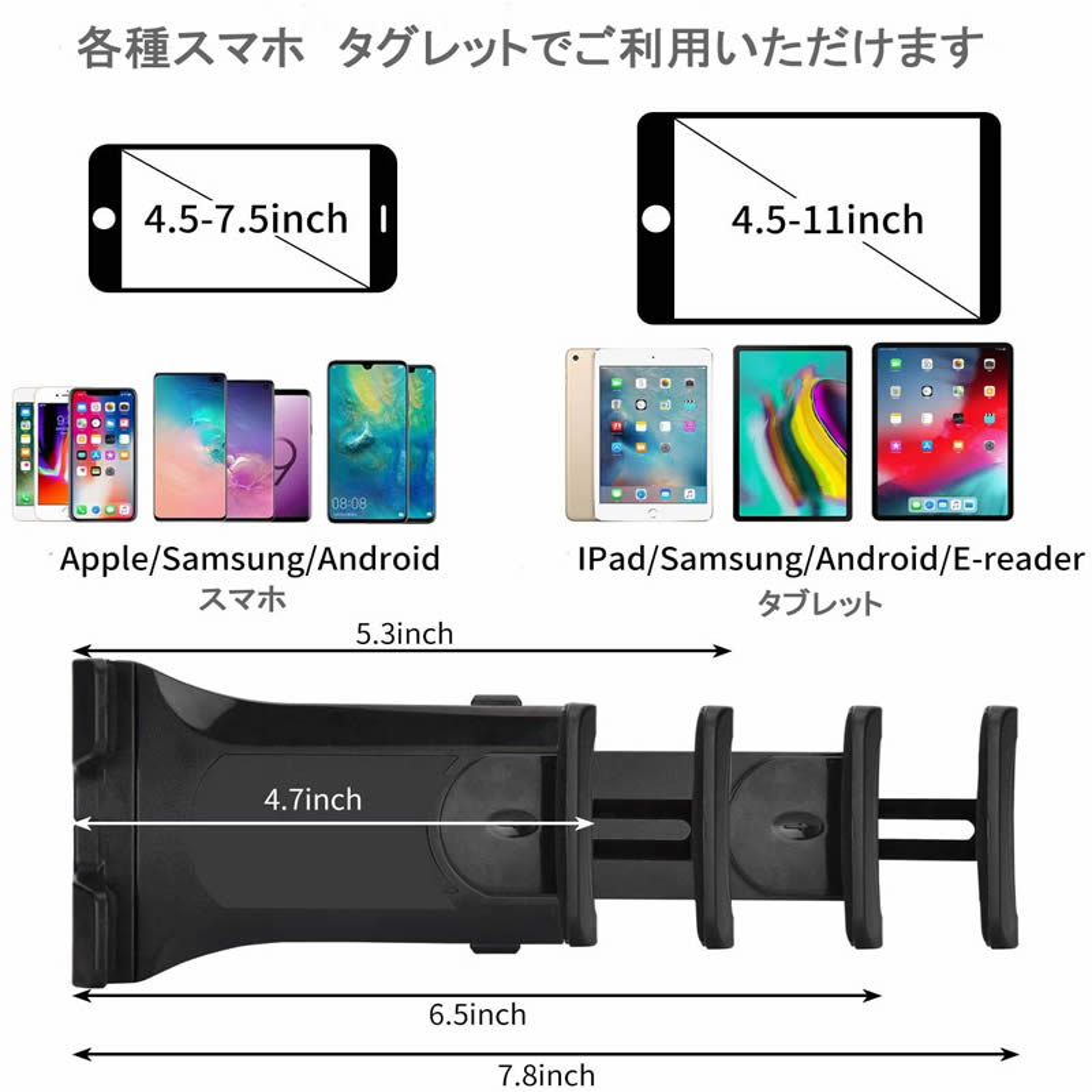 Huawei dtab d-01 H docomo[10.1 인치]기종 대응 타블렛용 대형 전기스탠드와 반사 방지 액정 보호 필름 스탠드절첩삼각 타블렛 스탠드