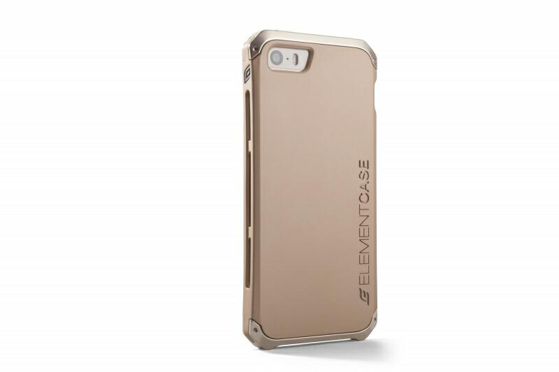 【ELEMENTCASE】gold COLLECTION SOLACE Au iPhone5 ケース/iPhone5s ケース/iPhone SE ケース 《 エレメンタルケース スマホ スマホケース アイフォンSE 》