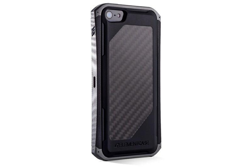 【正規販売代理店】 ELEMENTCASE エレメントケース RONIN II-G10 for iPhone 5 / 5s / SE アイフォン 5 / 5s / SE用 耐衝撃ケース Aluminum 耐衝撃 4580395304717