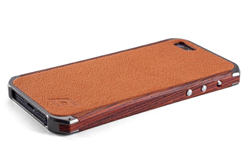 【正規販売代理店】 《 ELEMENTCASE 》Ronin II for iPhone 5/5s/SE : Wood cocobolo 【 ウッド 】 《 エレメントケース スマホ スマホケース アイフォン5 》 4580395304755