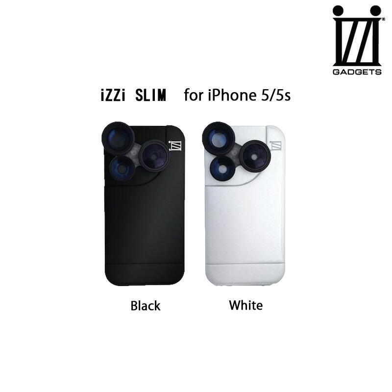 《 iZZi 》iZZi SLIM for iPhone5/5s : 黒・白 【 ケース / レンズ付 】 《 イジー スマホ スマホケース アイフォン5s 》 4580395319
