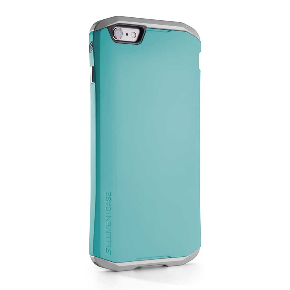 【正規販売代理店】 ELEMENTCASE エレメントケース SOLACE for iPhone 6 アイフォン 6用 耐衝撃ケース Turquoise Blue 耐衝撃 軽量 スリム