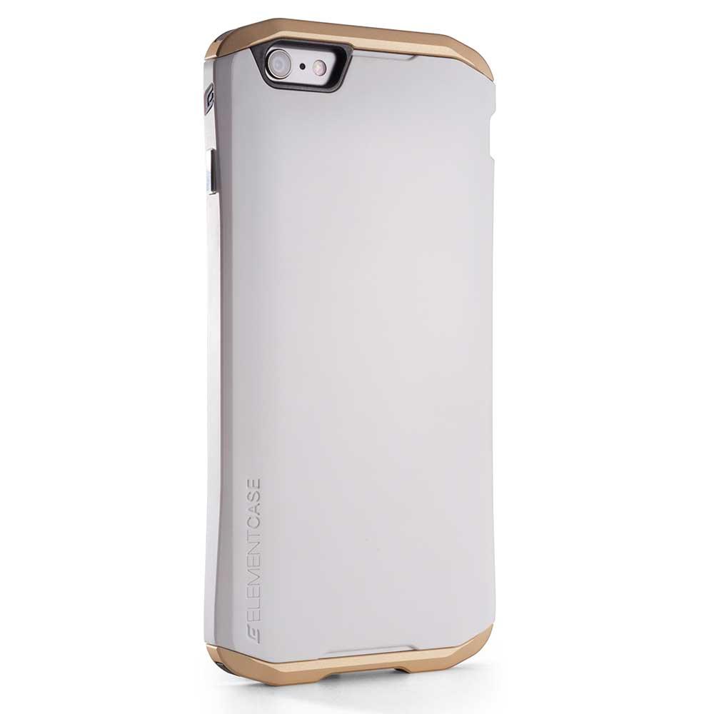 【正規販売代理店】 ELEMENTCASE エレメントケース ION 5 for iPhone 6 Plus アイフォン 6プラス用 耐衝撃ケース White 耐衝撃