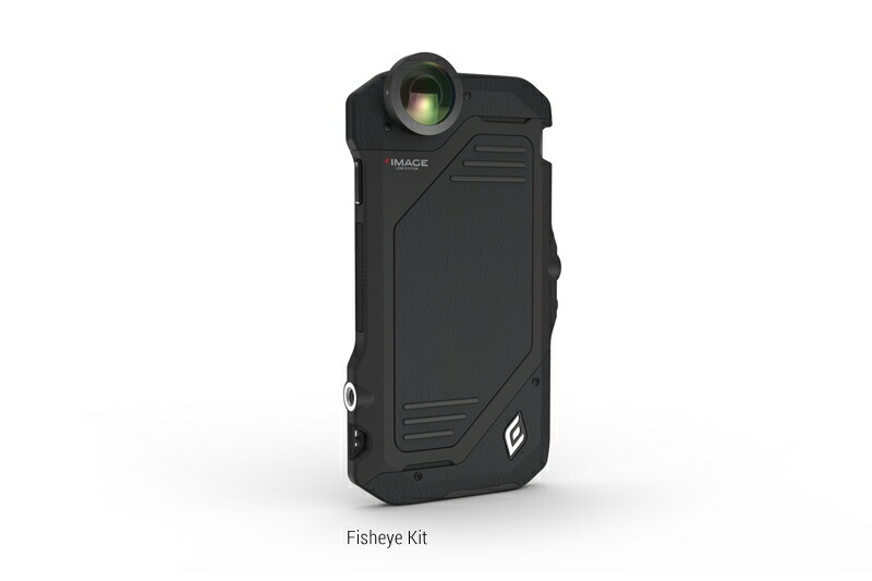 【正規販売代理店】 《 ELEMENTCASE 》IMAGE iPRO Fisheye Kit for iPhone 6 : Black 【 カメラ / レンズ 】 《 エレメントケース スマホ スマホケース アイフォン6 》