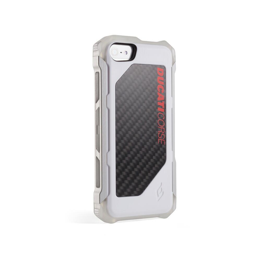 【正規販売代理店】 《 ELEMENTCASE 》DUCATI ROGUE for iPhone 5/5s/SE : White 【 軽量 / ドゥカティ / アイフォンケース 】 《 エレメントケース スマホ スマホケース アイフォン5 》