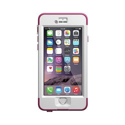 【正規販売代理店】 Lifeproof ライフプルーフ nuud ガラス保護フィルムセット for iPhone 6 アイフォン6用 耐衝撃ケース Pink 耐衝撃 防水 防塵 ミルスペック IP68 指紋認証 補償サービス付