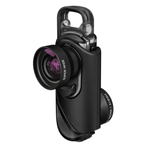 【olloclip】コアレンズ - Core Lens SetCore Lens + Ollo Case for iPhone 7/7 Plus : Lens: Black/Black, Case : Clear/Clear 4580395330761