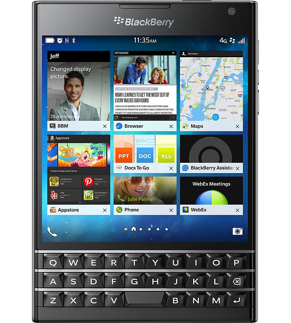 【正規販売代理店】《 BlackBerry 》BlackBerry Passport Black SIMフリー ブラックベリー 32GB【 ブラックベリー / nano-SIM / パスポート 】 《 ブラックベリー 》