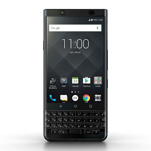 「BlackBerry」KEYone Black Edition Android 64GB SIMフリースマートフォン ブラックベリー 4894461743837