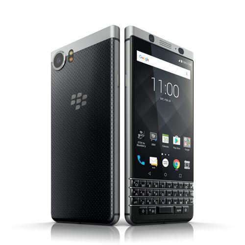 【正規販売代理店】 BlackBerry KEYone シルバー Android 32GB SIMフリースマートフォン ブラックベリー 4894461737157
