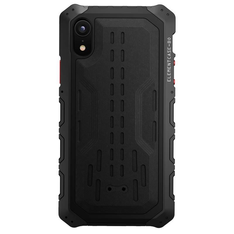 【正規販売代理店】 ELEMENTCASE Black Ops for iPhone XR ケース Black 耐衝撃 軽い 衝撃吸収 カメラ保護 高品質 保護ケース カバー アイフォンカバー