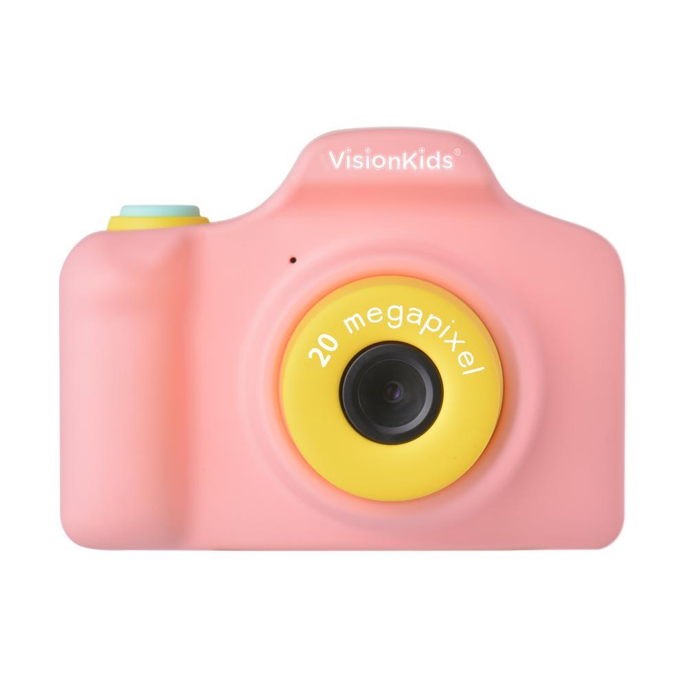 【正規販売代理店】VisionKids HappiCAMU Plus 子供用カメラ 4倍ズーム 2000万画素 1080Pビデオ 2