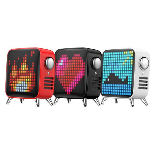 【正規販売代理店】 【 Divoom 】Tivoo-Max レトロテレビ型本格派ピクセルアートBluetoothスピーカー