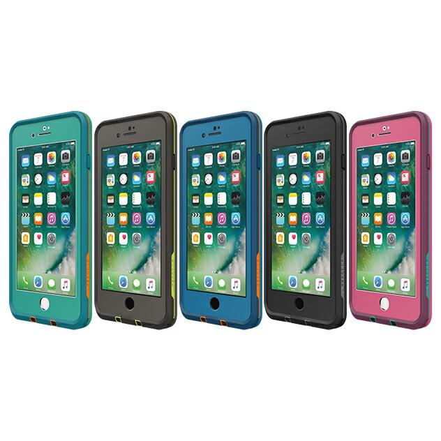 【正規販売代理店】 Lifeproof ライフプルーフ fre for iPhone 7 Plus アイフォン7プラス用 耐衝撃ケース 全5色 耐衝撃 防水 防塵 ミルスペック IP68 指紋認証 補償サービス付 4580395352