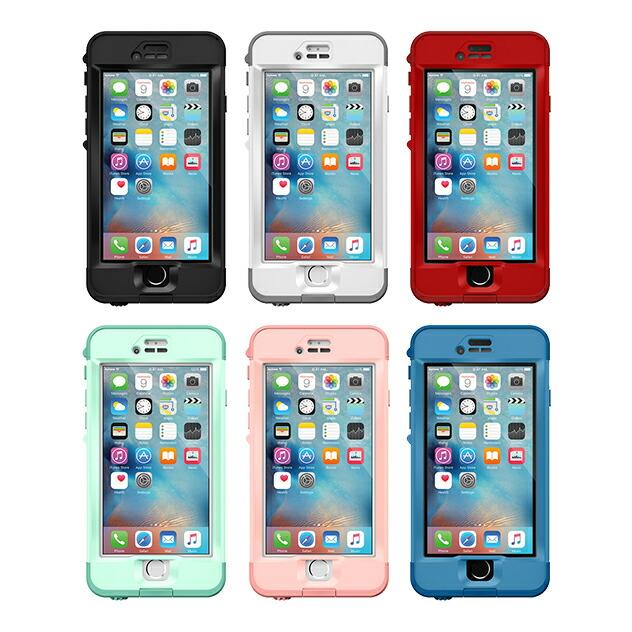 【正規販売代理店】 Lifeproof ライフプルーフ nuud for iPhone6s Plus アイフォン6sプラス用 耐衝撃ケース 全5色 耐衝撃 防水 防塵 ミルスペック IP68 指紋認証 補償サービス付 4580395352