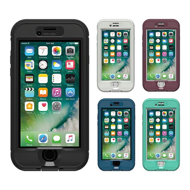 【正規販売代理店】 Lifeproof ライフプルーフ nuud for iPhone 7 アイフォン7用 耐衝撃ケース 全5色 耐衝撃 防水 防塵 ミルスペック IP68 指紋認証 補償サービス付 4580395