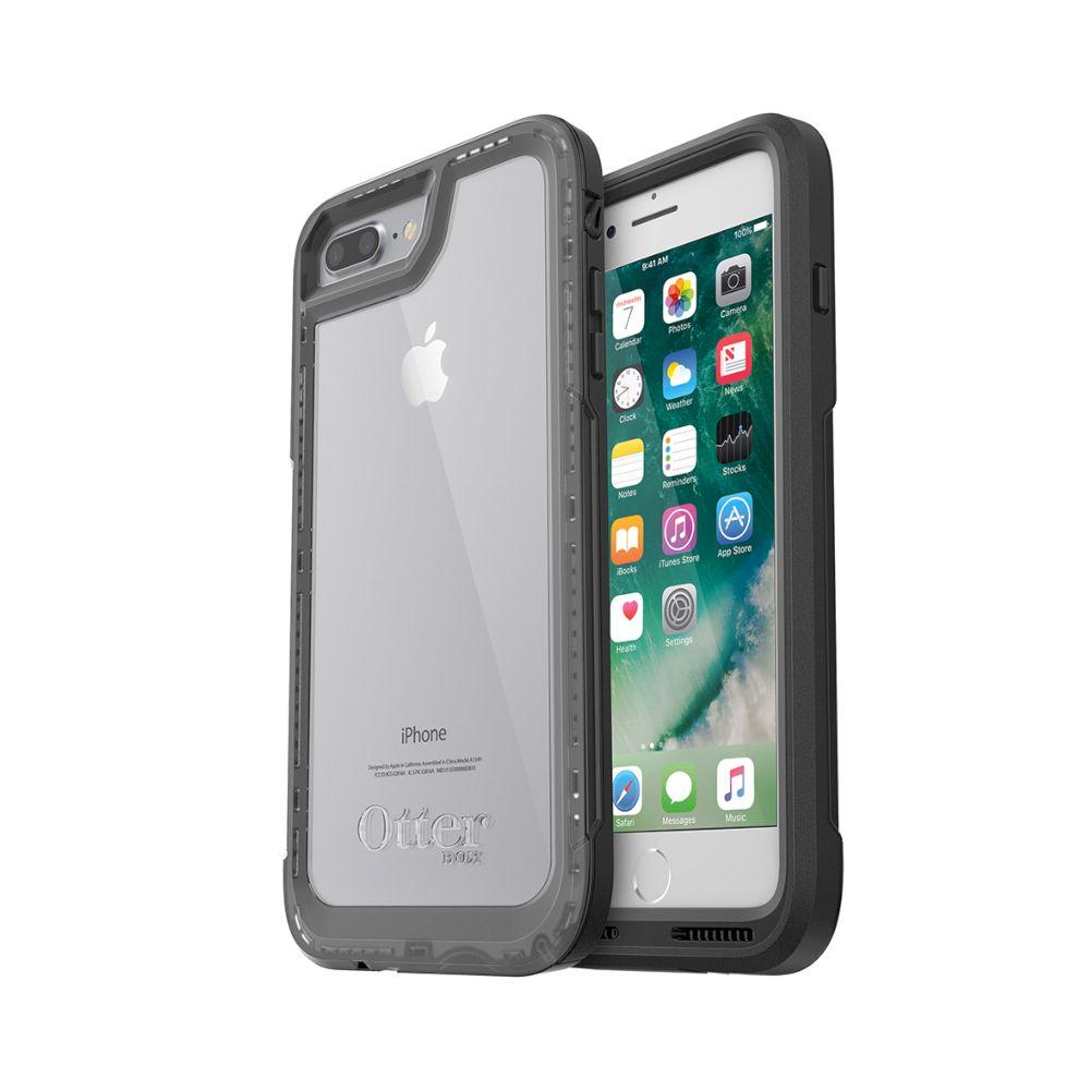 ケース OtterBox - Pursuit 買物 for iPhone Black 7 特売 Plus Clear 8
