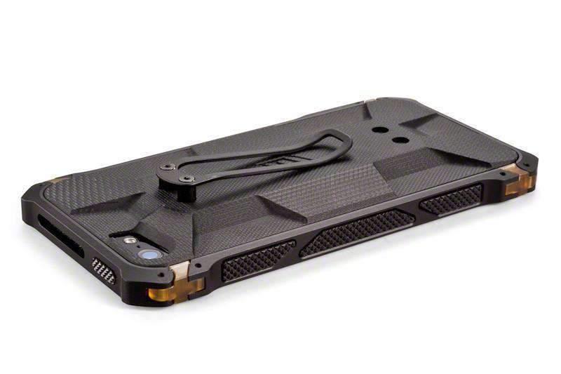 【正規販売代理店】 ELEMENTCASE エレメントケース Sector 5 Black Ops Elite for iPhone 5 / 5s / SE アイフォン 5 / 5s / SE用 耐衝撃ケース Black 耐衝撃 軽量 スリム ミルスペック