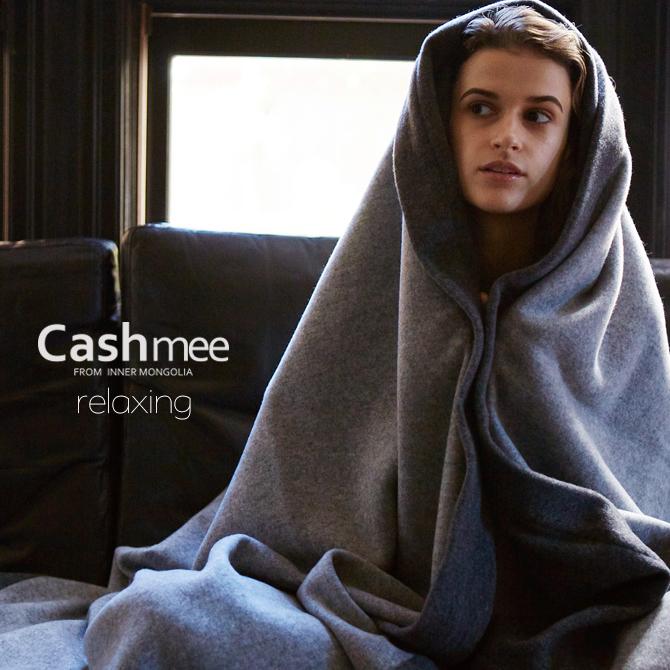 2018-2019新作【全2色】『Cashmee カシミヤ100%リバーシブルディレクションフレーム ブランケット 毛布 2color 』最高のカシミヤで最高のリラクシングをお届けしますカシミヤ カシミア 毛布 ギフト