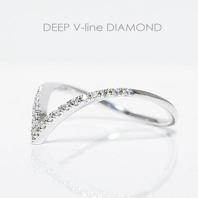 ディープVライン ダイヤモンド エタニティーリング ホワイトゴールド ピンクゴールド イエローゴールド プラチナ K10WG/K10PG/K10YG K18/pt900製作誕生日クリスマスプレゼント