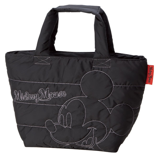 内側のバッグを取り外して 外側のバッグを洗えます スケーター ブランド品 洗えるソフトランチバッグ 2重タイプ ディズニー Disney かばん カバン ショッピング ミッキーマウス