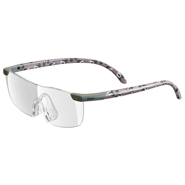 メガネの上からでもかけられる1.6倍の拡大率 話題のルーペグラス ネイルのお手入れにも スケーター 拡大率1.6倍 半額 大きくはっきりよく見える ルーペグラス ミッキーフェイス Disney 海外輸入 メガネ MickeyMouse ディズニー 虫眼鏡 めがね パターン メガネ型拡大鏡