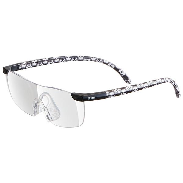 メガネの上からでもかけられる1.6倍の拡大率 スケーター 拡大率1.6倍 モデル着用 注目アイテム 大きくはっきりよく見える ルーペグラス スター ウォーズ メガネ型拡大鏡 めがね Disney Star_Wars 虫眼鏡 メガネ スターウォーズ 選択 ディズニー