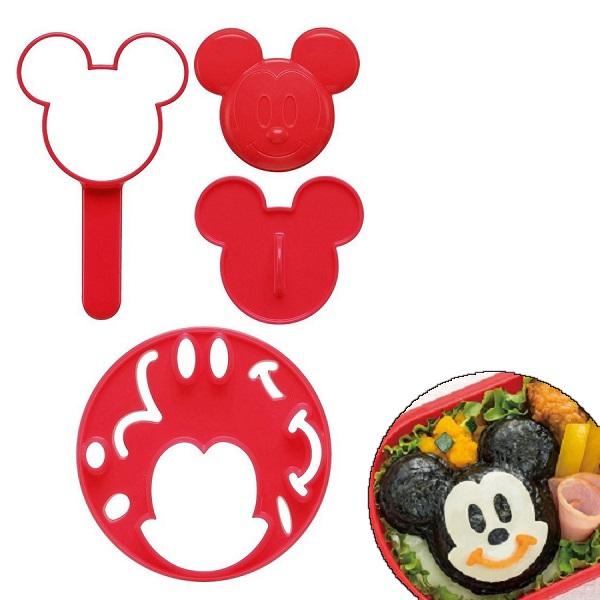 スケーター ディスカウント 3Dおにぎりセット ミッキーマウス 国産品 立体おにぎり お弁当 ランチ キャラクター弁当 Disney ディズニー デコ弁 抜き型 食洗機OK おにぎり型 ご飯
