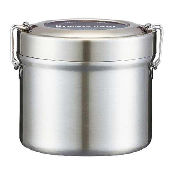 スケーター 真空ステンレスランチボックス 総容量:600ml ベーシック シルバー 弁当箱 保温 保温弁当箱 [並行輸入品] 麺 永遠の定番 保温ジャー ランチジャー