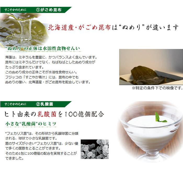 【送料無料】すこやか青汁フジッコ公式乳酸菌配合の青汁