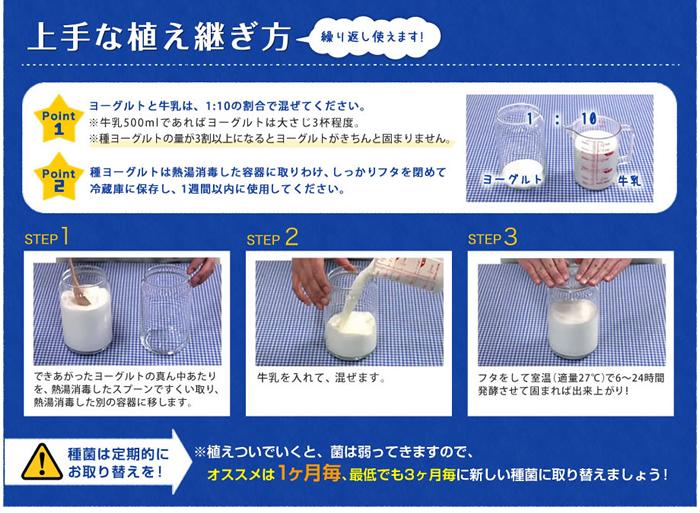 楽天市場】フジッコカスピ海ヨーグルト手づくり用種菌セット牛乳を ...