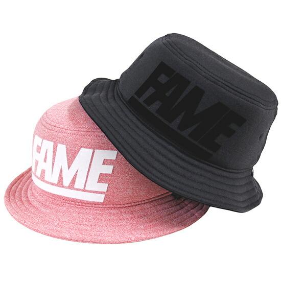 HALL 超特価 驚きの値段 OF FAME ホールオブフェイム スウェット素材を使用したバケットハット Block バケットハット Hat Foam Bucket 帽子