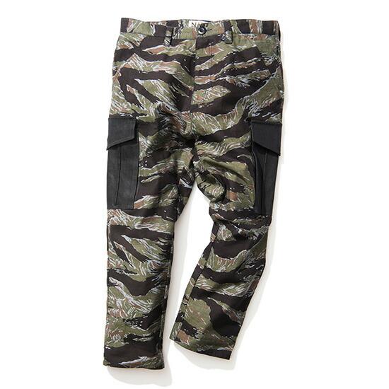 【 送料無料 】【 Nine Rulaz Line / ナインルーラーズ 】 Camouflage 4/5 Length Cargo Pants カーゴパンツ ( ナインルーラーズ パンツ ) ( NINE RULAZ パンツ )
