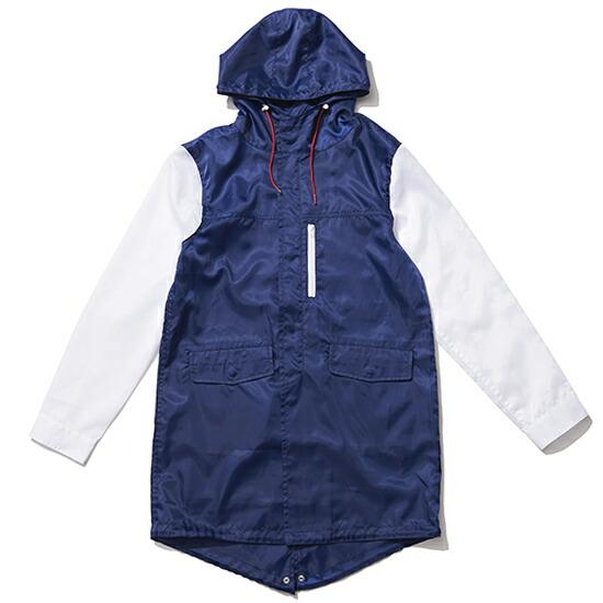 送料無料 ナインルーラーズ NINE RULAZ LINE Nylon Mods Coat モッズコート / ネイビー ナインルーラーズ モッズコート