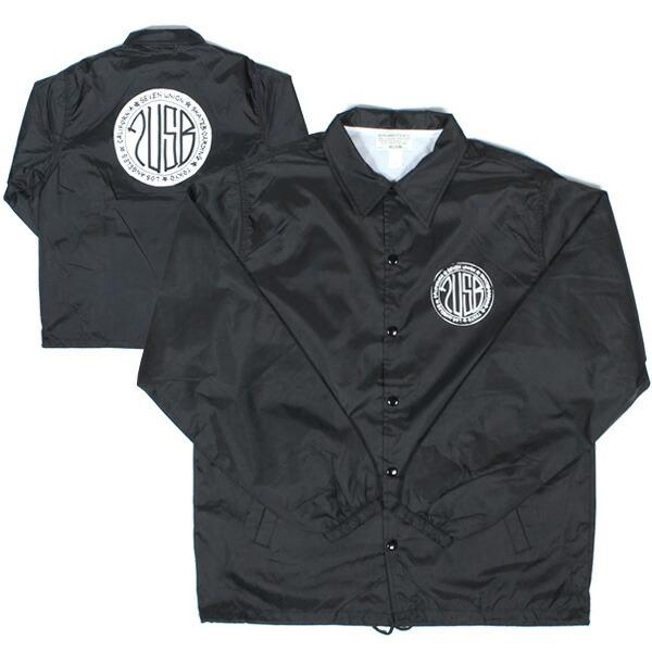 7UNION 7ユニオン 7USB Circle Coach Jacket コーチジャケット メンズ アウター 7IAXY-307C ブラック