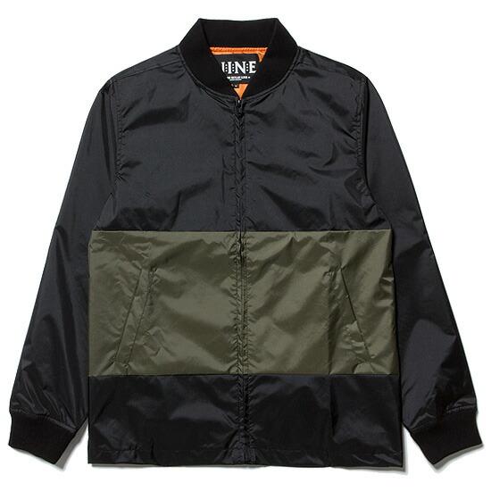 送料無料 NINE RULAZ LINE ナインルーラーズ Love and Conquer Coach Jacket コーチジャケット NRSS17-007 ブラック