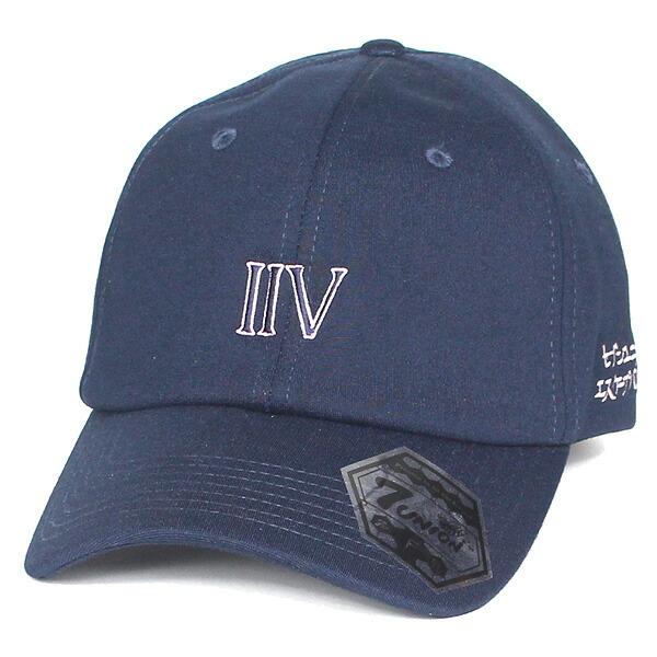7UNION 7ユニオン IIV Bent Brim Cap ボールキャップ ベントブリムキャップ 帽子 ユニセックス IAVW-161 ネイビー