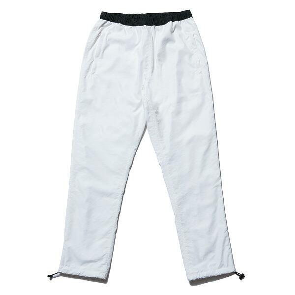 【エントリーでポイント20倍】 送料無料 NINE RULAZ LINE ナインルーラーズ Nylon Track Pants ナイロンパンツ トラックパンツ メンズ NRSS17-014 ホワイト
