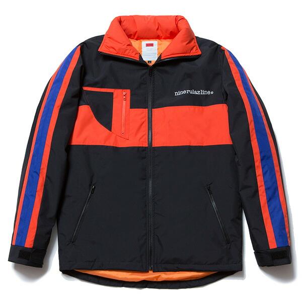 【エントリーでポイント20倍】 送料無料 NINE RULAZ LINE ナインルーラーズ Nylon Sports Jacket スポーツジャケット メンズ アウター NRAW17-033 ブラック