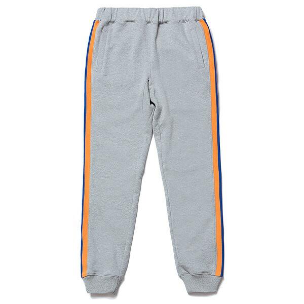 送料無料 NINE RULAZ LINE ナインルーラーズ Sports Rib Sweat Pants スウェットパンツ メンズ パンツ NRAW17-038 グレー